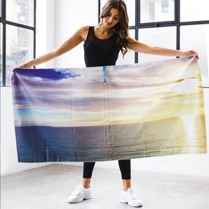 Sunset design- gym and beach towel